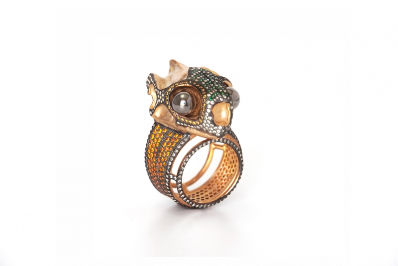 bague tortue fire 1